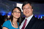 Lester Ng and wife at UCI Medal-sm